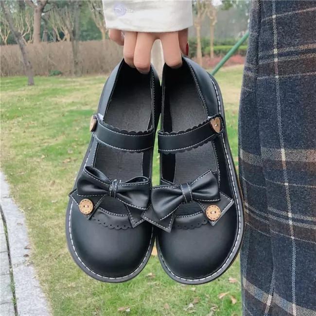 Lolita Women's Vintage Sweet Cosplay Women Mary Jane Shoes