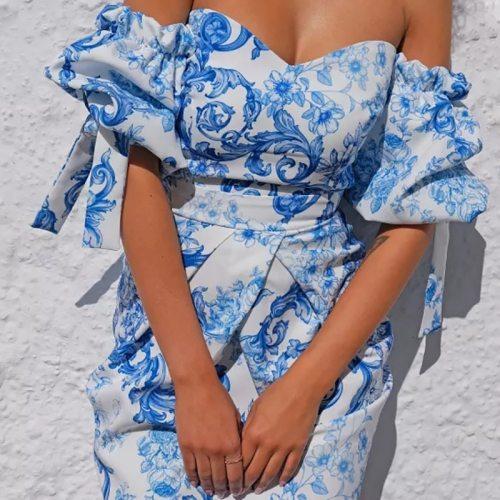 Bohemian Mini Dress Sexy Backless A-Line Dresses Women