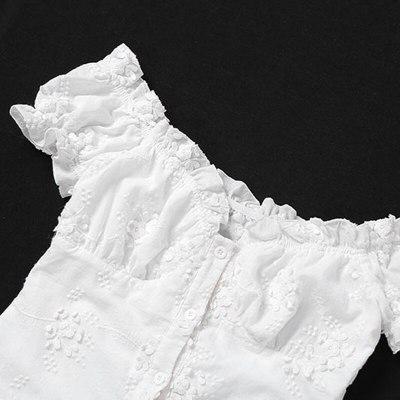 Paris Girl White Dress Short-Sleeved V-Neck Slim Dress Party Wear Pencil Dresses