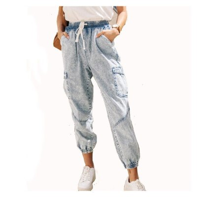 Vintage High Waist Straight Jeans Pants For Women Streetwear Loose Female Denim Ladies