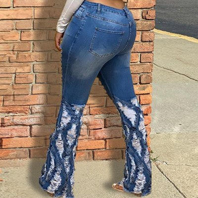 Women's Denim Pants Sexy Female Zipper Jeans Skinny Fashion Streetwear Retro Ladies