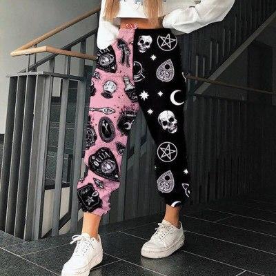Women's Pants Plus Size Female Pants Streetwear Fashion Casual Ladies