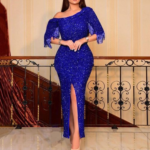 Elegant Dress Bodycon Bodycon Ankle Length Wedding Party Formal Long Dresses