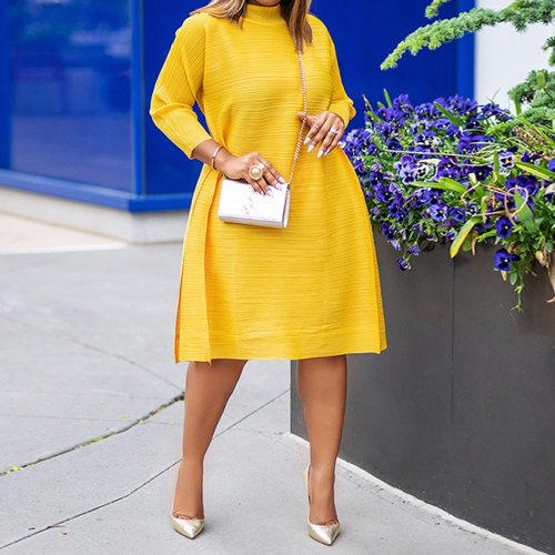Streetwear Dress Casual Loose Oversize Women Clothes Midi Dresses