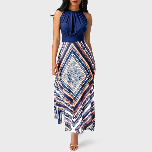 Long Dress Ladies Sleeveless Elegant Evening Party Women Maxi Dresses