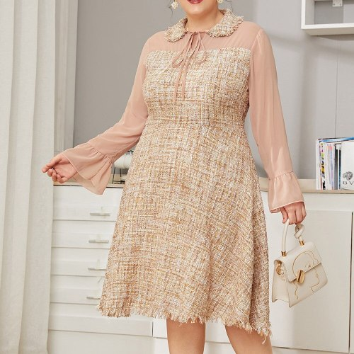 Dress Fashion Flared Sleeves Woman's Clothing