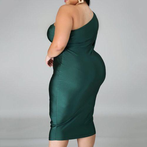 Elegant Women Evening Party Dress Sexy Bodycon Ladies Size