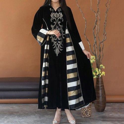 Retro Plus Size Dress Trendy Dress Elegant
