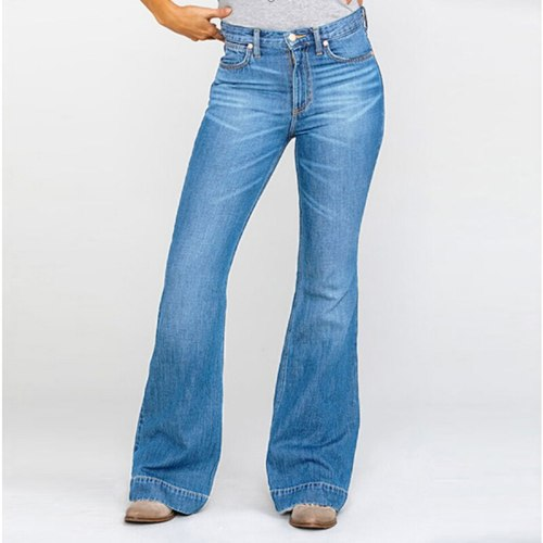 Hight Waist Jeans Women Pants Classic Ladies Vintage Fashion Sexy Female Trousers