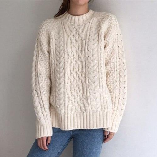 Women's Sweaters Warm Fashionable Oversize