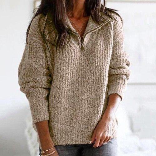 Sweater Warm Sweater Women Winter Plus Size