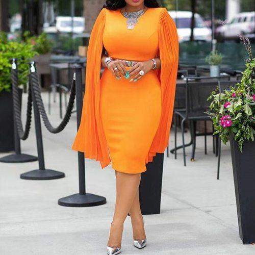 Elegant Women Short Party Dress Long Sleeve Bodycon Female Dress