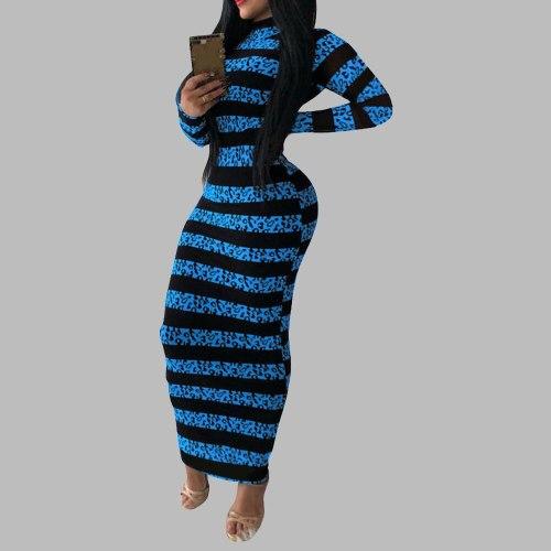 Long Dress Women Chic Streetwear Plus Size Bodycon Casual Maxi Dresses