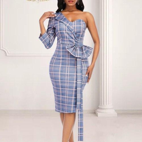 Dress For Women Sexy High Waist Bodycon Plus Size Female Party Dress