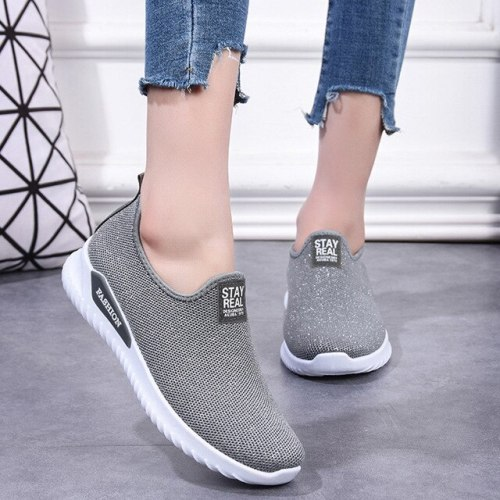 Sneakers Summer Socks Shoes Ladies Sneakers Fashion Slip-on Flat