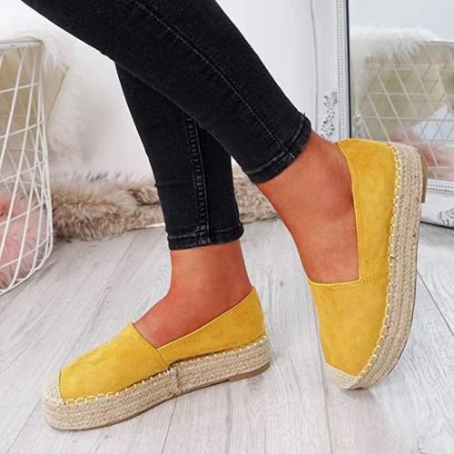 Fisherman Shoes Plus Size Women'S Shoes Explosion Models Comfortable Cloth Shoes Thick Bottom Lazy Shoes