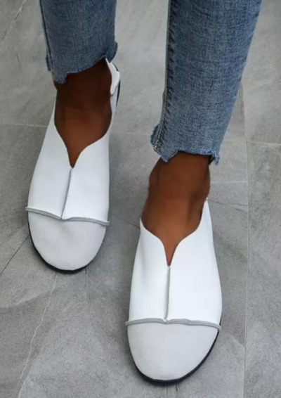 Women Shoes 2021 PU Leather Loafers Soft Flats Casual Female Moccasin Ballet Footwear Ladies Comfortable Mother Shoes
