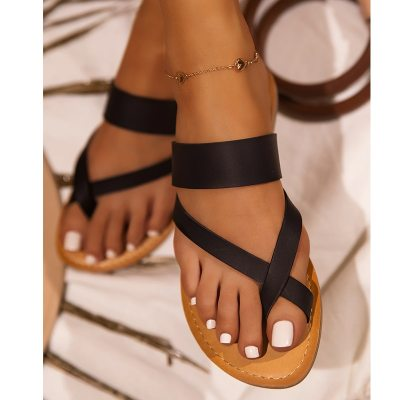 Women Sandals 2021 New Summer Shoes For Women Flats Sandals Plus Size Women Flip Flop Casual Slippers Summer Sandalias Mujer