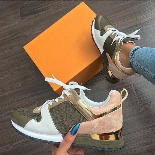 2021 Fashion Women Sneakers Casual Shoes Ladies Trainers White Platform Sneaker Woman Baskets Femme Dames Black Deportivas Mujer