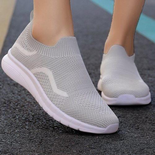 Women's Flat Sneakers 2021 New Spring Summer Mesh Breathable Light Vulcanized Shoes Fashion Casual Female Footwear Ladies Shoes