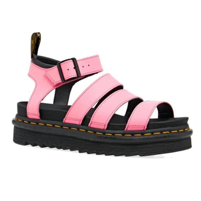 2021 Summer New Shoes Womens Sandals Students Flat Platform Shoes Women Soft Patent Leather Gladiator Sandals Female Beach Shoes