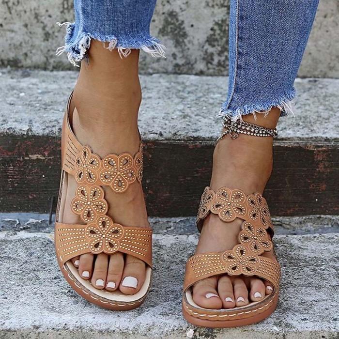 Women's Sandals Platform Fashion Women Sandal Casual Wedges Shoes Woman Open Toe Platform Women Sandals Outdoors Shoes Female