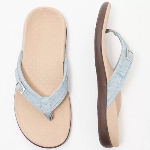 Sandals women 2021 summer new flat casual flip-flop sandals