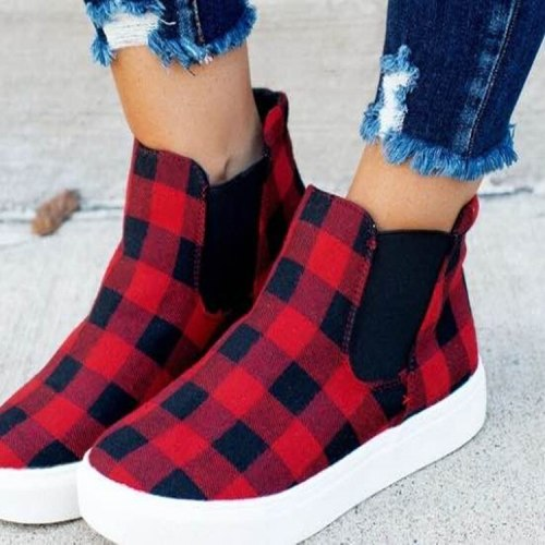 2020 New Women's Casual Single Shoes Deep Mouth Cover Foot Rubber Round Head Flat Shoes Foreign  European And American