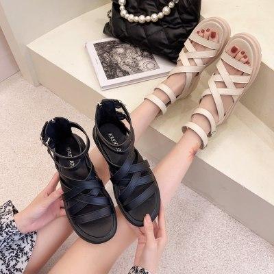 2021 new fashion summer Women Platform sandals  indoor outdoor breathable Comfortable Leisure soft sandals