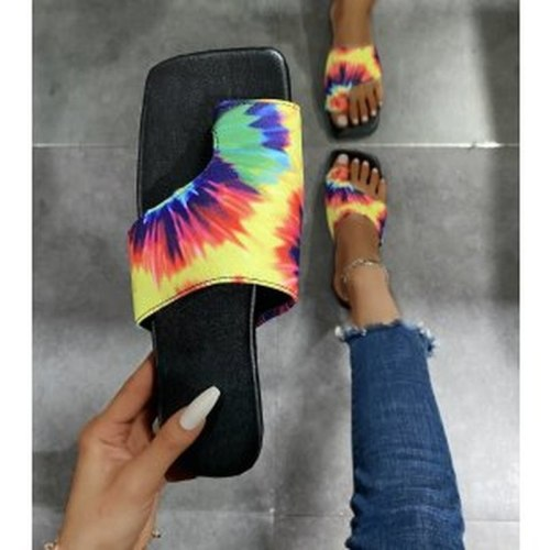 2021 Summer Fashion Ladies Women's Flip-Flops All-match Comfortable Female Slippers Large Size Casual Women Shoes Tenis Feminino