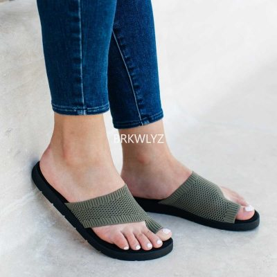 Women's Mesh Slippers Fashion Summer Fly Woven Breathable Flat Sandals Trendying Slippers Streetwear 2021 zapatillas mujer