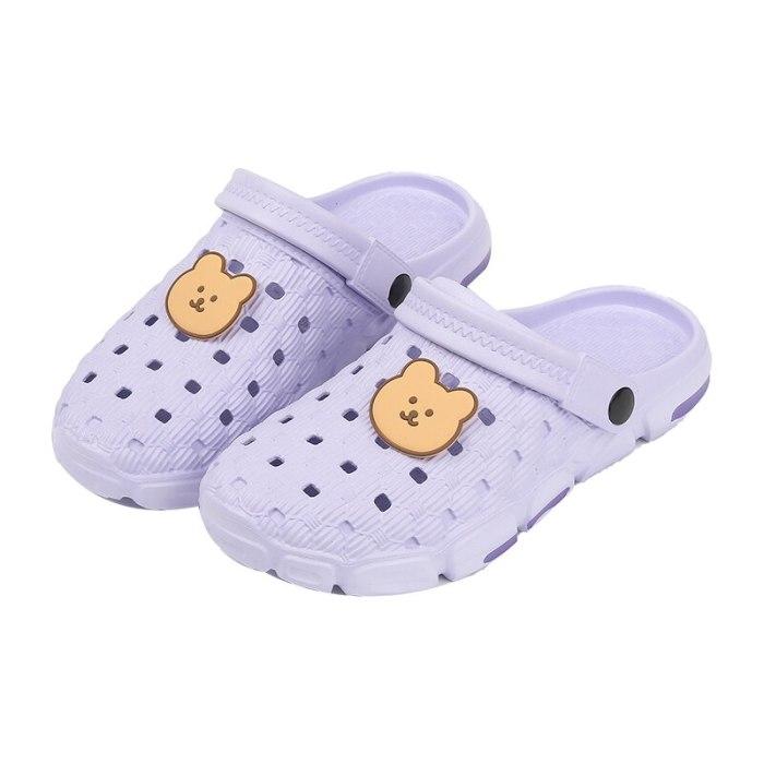 Summer Women Men Shoes Cartoon Cute Soft bottom Sandals Breathable Female Ladies Platform Footwear Women Sandals Flats Size 41