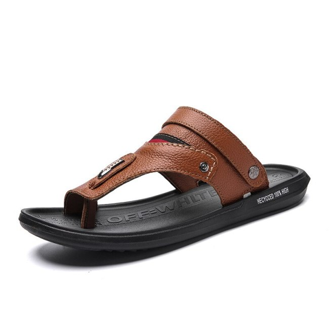 Men shoes 2021 spring and summer new sandals casual single shoes men breathable new large size male sandals
