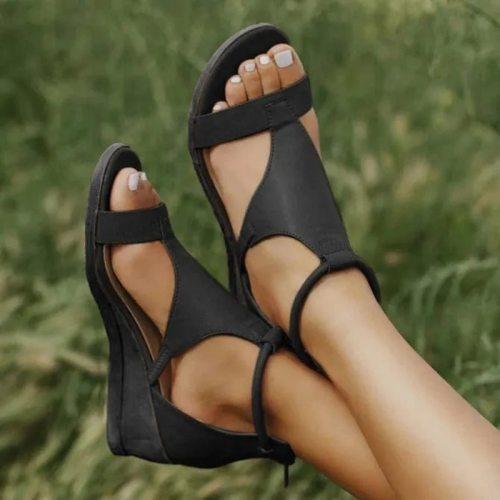 Women Sandals  Women Heels Shoes For Gladiator Sandals Women High Heels Summer Shoes Woman Lace Up Peep Toe Chaussures Femme