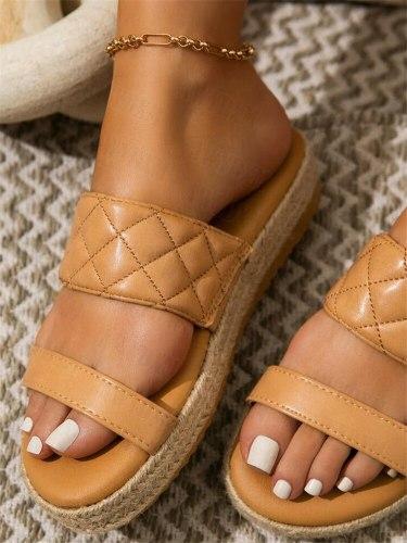 Summer Women's Slippers Women Shoes 2021 New Flat Sandals Women Casual Comfort Beach Shoes Female Flip Flops Designer Slides Hot