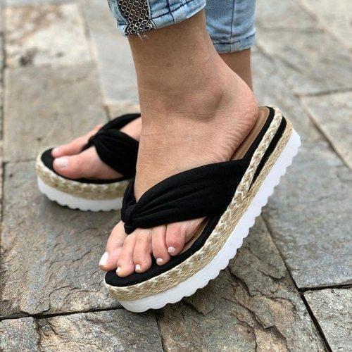 Sandals Women Summer New Fashion Women's Sandals 2021 Women's Slipper Designer Beach Slides Platform Shoes Women's Flip Flops