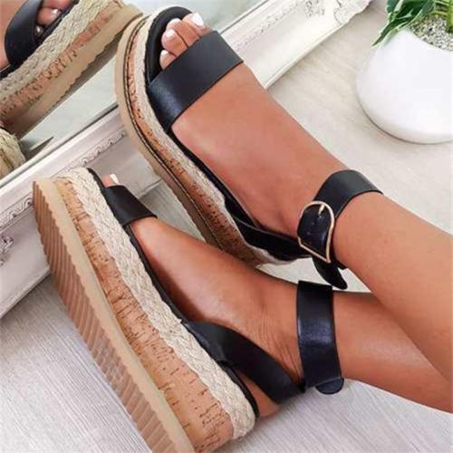 siddons Ladies Platform Sandals 2021 Summer Sandals Slippers Indoor And Outdoor Beach Ladies Slippers