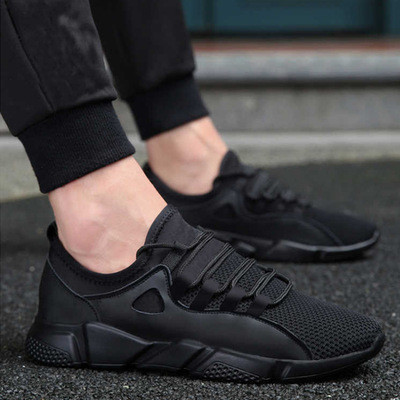 Spring And Autumn Trend Men's Shoes Breathable Fashion Casual Shoes Sports Running Fitness Shoes Flat Shoes