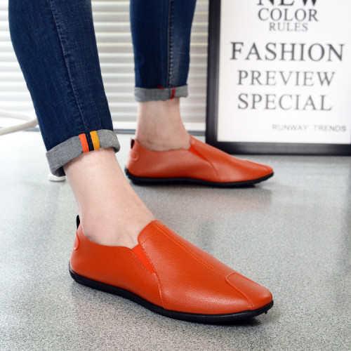 White Casual Shoes 2021 Men's Loafers Soft Sole Driving Shoes Summer Daily City Comfortable Light Walking Footwear
