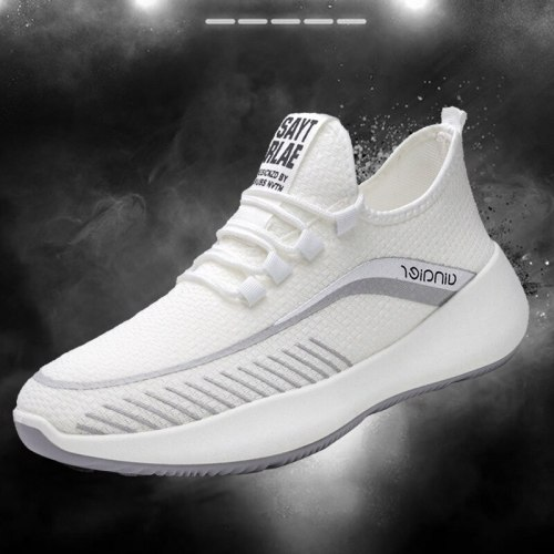 Spring And Autumn Casual Shoes Sneakers Breathable No-slip Shoes  2021 New Lace Up Shoescasual Couples Gym Shoes  Wear-resistant