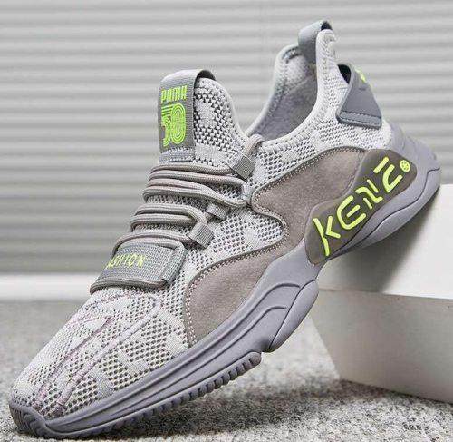 Hot Sale Fashion Men Casual Shoes sneakers men Lightweight Lace-up Walking Sneakers trainer Male Footwear