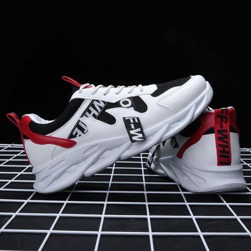 Big Size  Fashion Men's Casual Shoes Lace-up Man Footwears Lightweight Comfortable Breathable Sport Sneakers