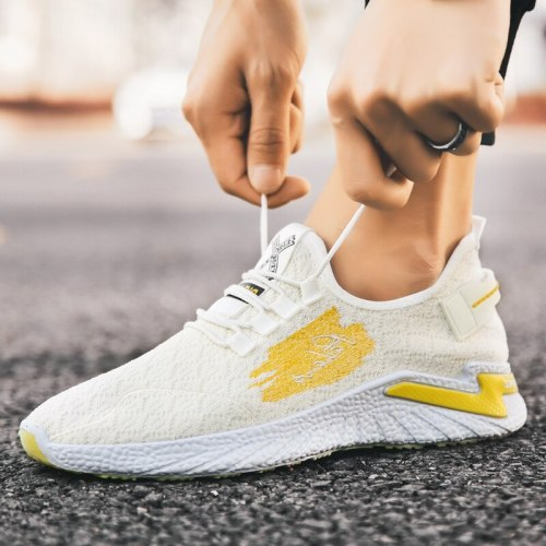 Sneakers for Men And Women Sneaker Running Sports Breathable Walking waterproof Lace-up Soft Bottom Couple Shoes