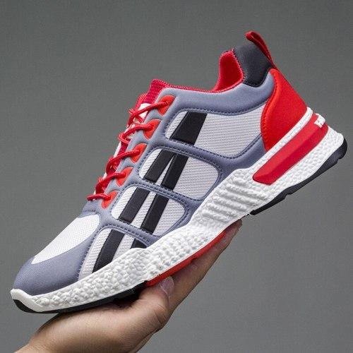 Men's Women Footwear Men's Women Breathable Casual Shoes Running Men's Shoes Comfortable Non-slip Front Lacing Mesh Cloth Shoes