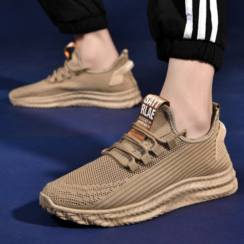 Men's Running Shoes 2021 New Korean Sports Shoes Men's Fashion Casual Shoes Soft Bottom Breathable Summer Men's Sneakers