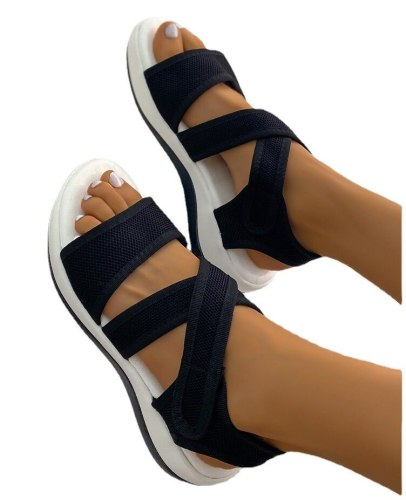 Women's Shoes 2021 New Shoes Women Retro Wedge Sandals Non-slip Large Size Wedges Shoes for Women  Shoes for Women Sneakers