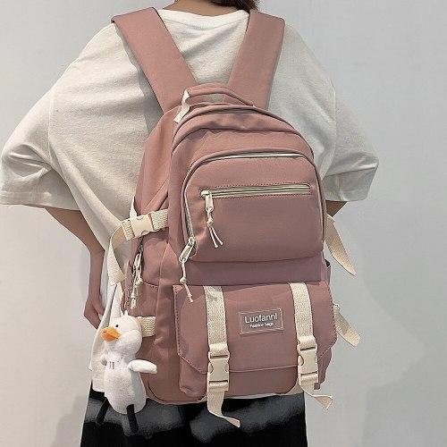 Girl Kawaii Laptop High Capacity Backpacks Student Women Female Cute Bag College School Fashion Book Pink Backpack Ladies Travel