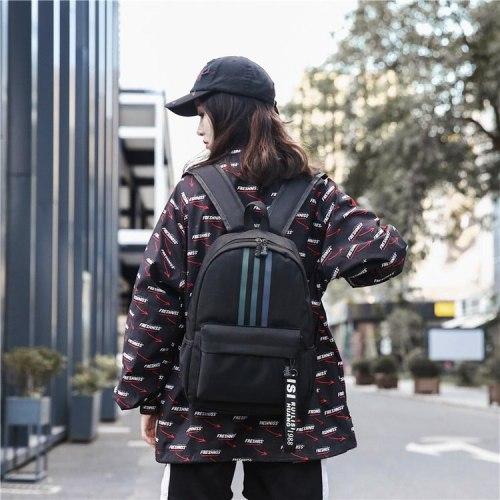 Harajuku backpack large capacity couple backpack
