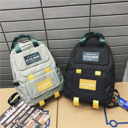Women Backpack Students Bookbag Waterproof Nylon Schoolbag Travel Bagpack Cute Shouder Bags Girls Mochila Feminin