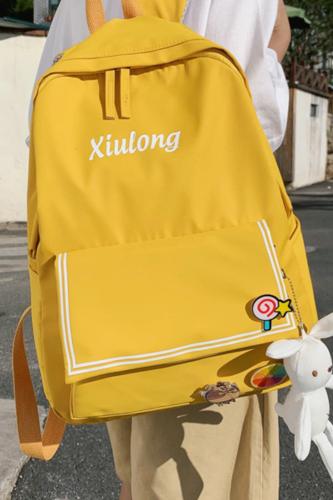 2021 Women Waterproof Nylon Backpack Student Cute School Bag Kawaii Girl Backpack Laptop Female Ladies Fashion Book Bag